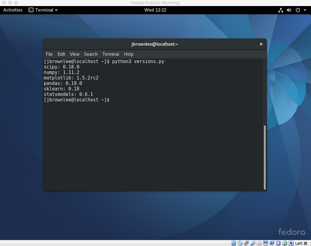 Python3检查库版本